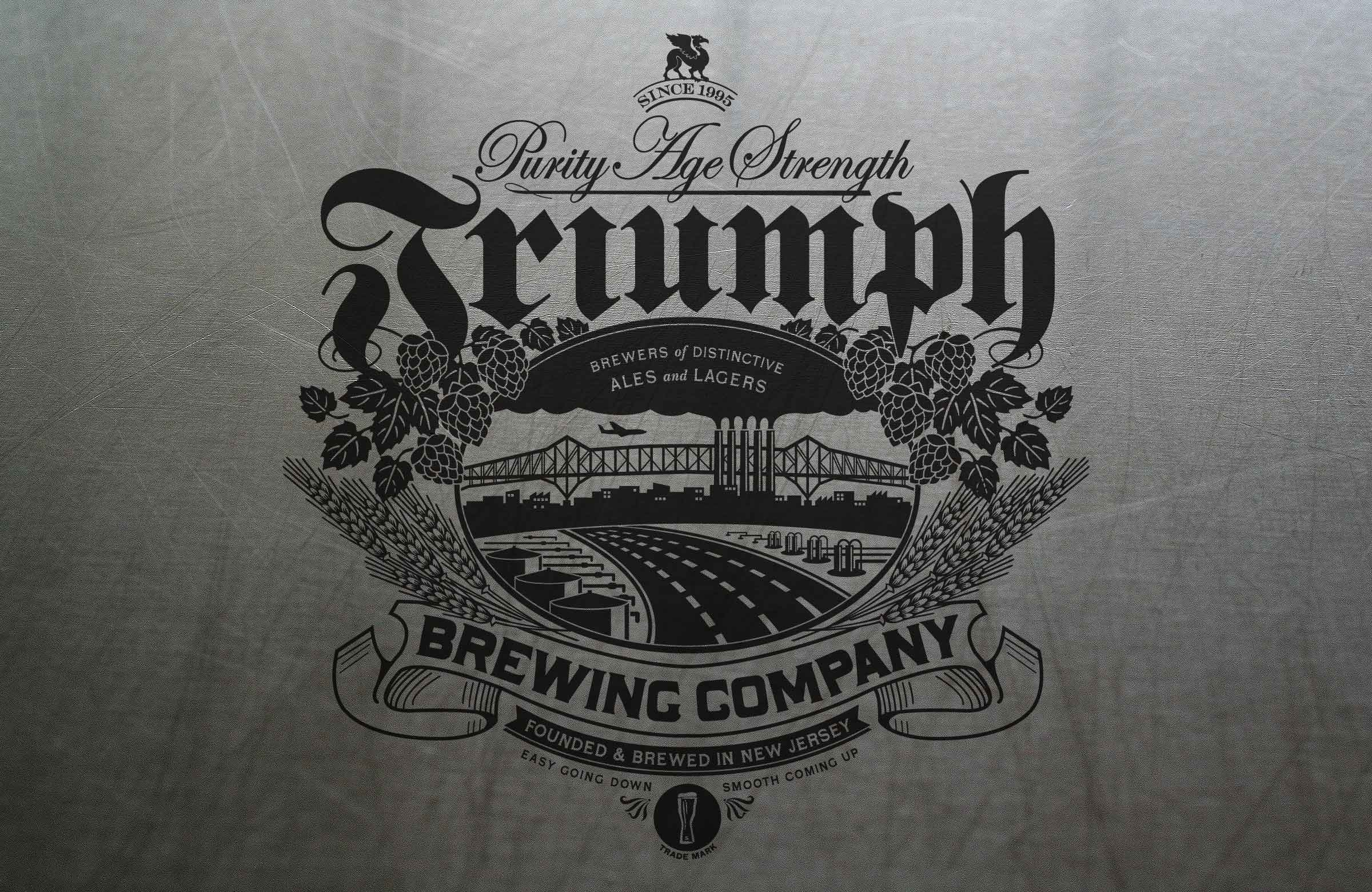 Triumph Brewing Package Design